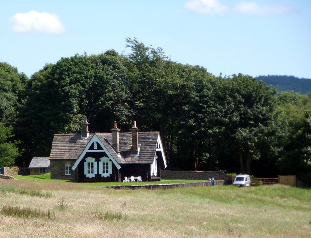Russian Cottage on Chatsworth Estate