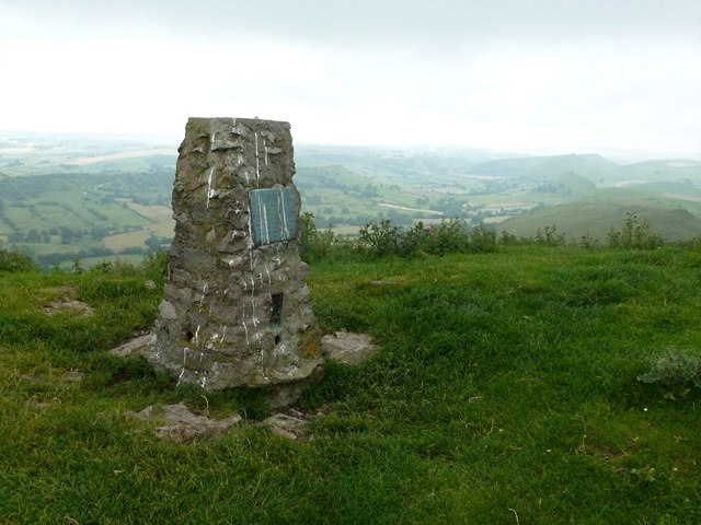 High Wheeldon trig point