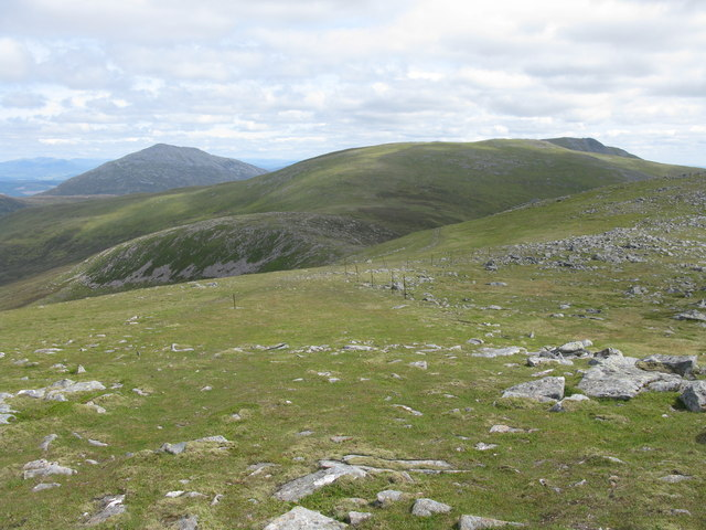 Descent from Meall Garbh