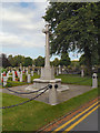 SJ6288 : War Memorial, Warrington Cemetery by David Dixon