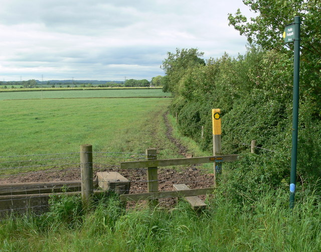 Public footpath to Asfordby