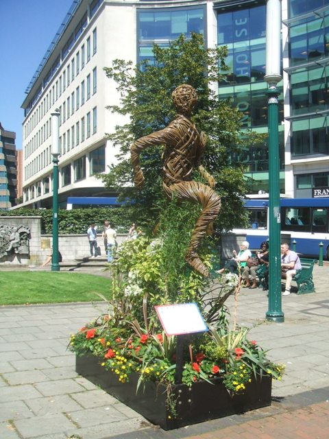 'Runner No 2' in Old Square