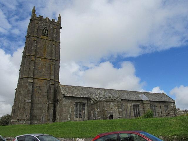 St Buryan's Church, St Buryan, Cornwall