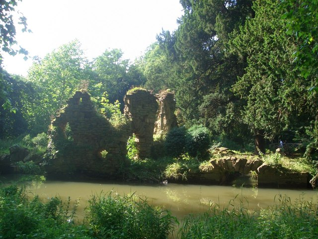 Sham ruin at Belton House