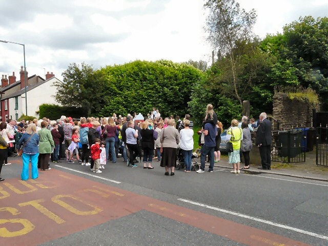 Blessing the Village Green Well