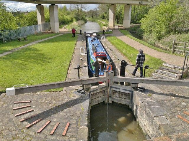 Haggonfields Lock, Chesterfield Canal