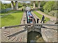 SK5680 : Haggonfields Lock, Chesterfield Canal by Chris Morgan