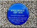 H5617 : John Deyell plaque, Drum by Kenneth  Allen