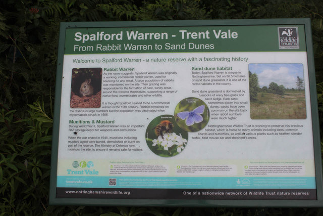 Spalford Warren, Information Board