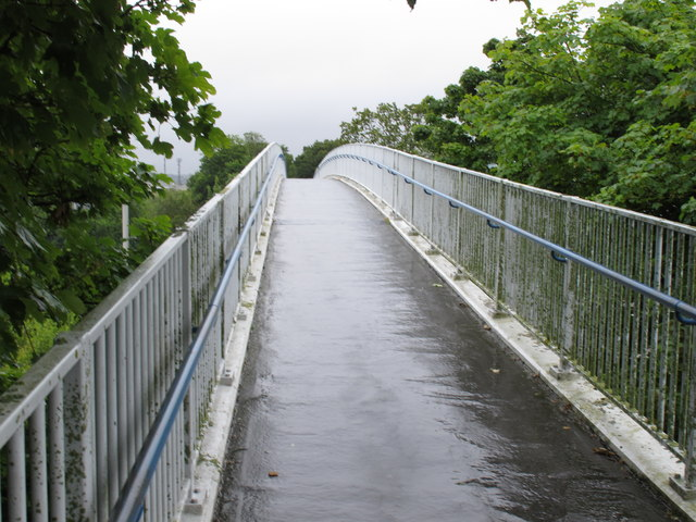 Cycle track bridge over N25 South Ring Road, Cork