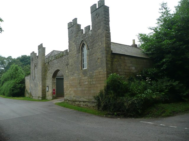Gateway to Stable Block of Roddam Hall