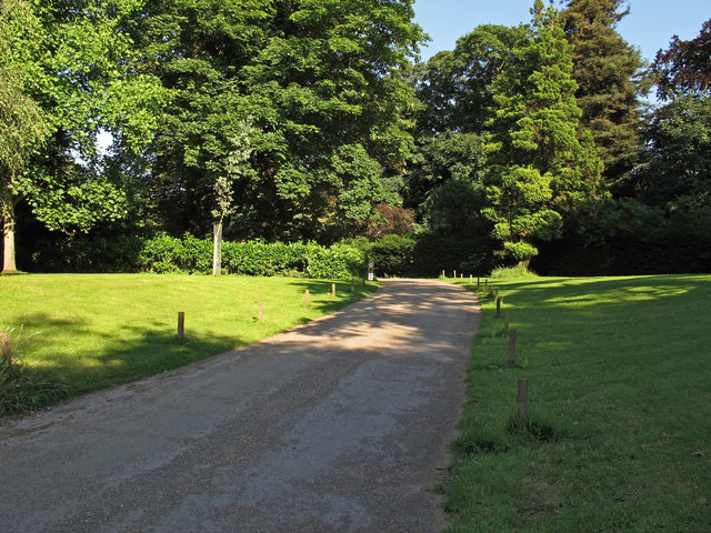 Entrance road to Weald Country Park