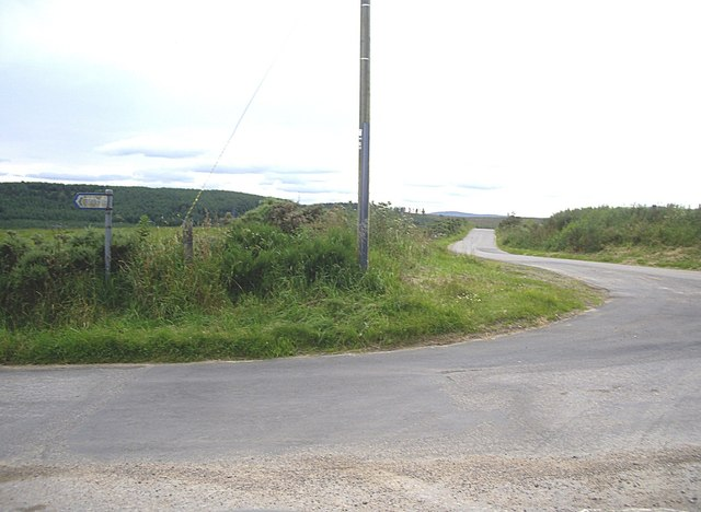 Crossroads near Bogfern