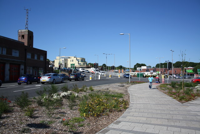 North Quay/Westwey/Rodwell Road junction