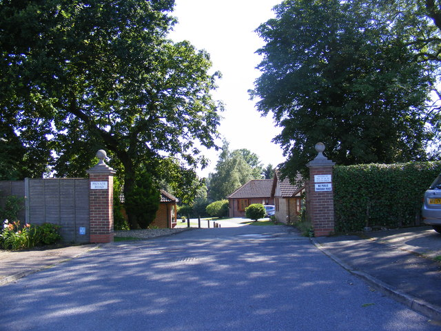 Entrance to Highfield (Private) Road