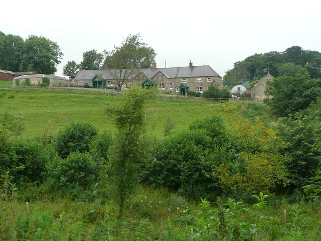 Estate houses at Wooperton Hall