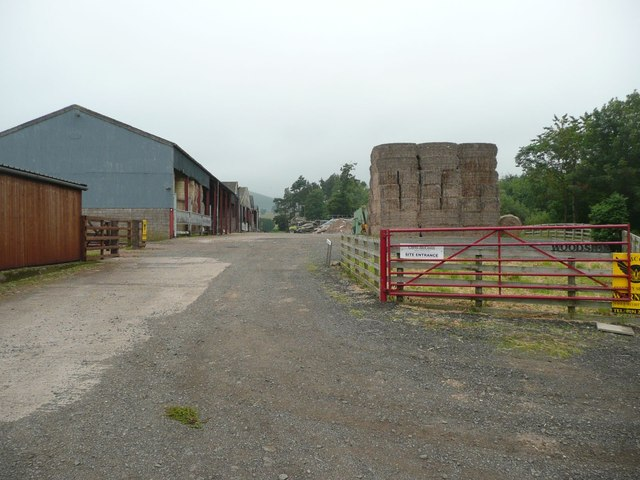 Woodside farm buildings