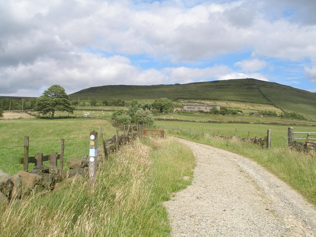 Pennine Bridleway at Diggle Edge