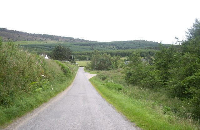 The run down from Westfield to the Corse Burn