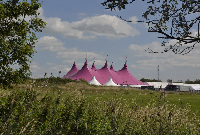 The Pink Pavilion - Llandow