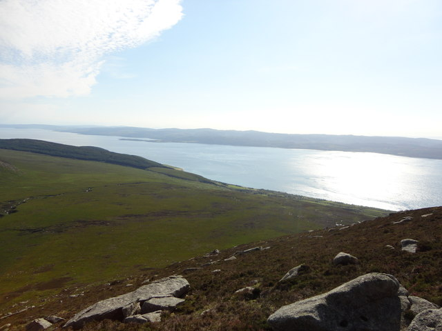 View towards Kintyre