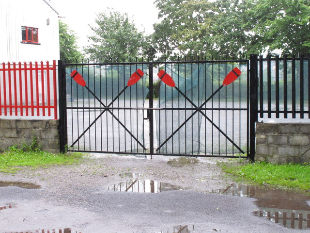 Gates of Lee Rowing Club