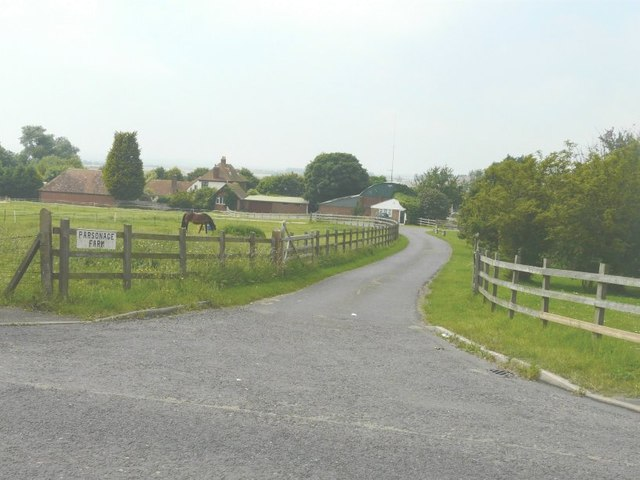 The entrance to Parsonage Farm