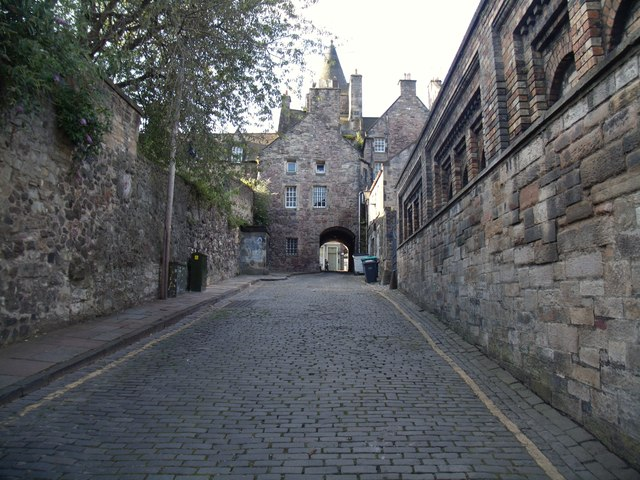 Old Tolbooth Wynd, Canongate