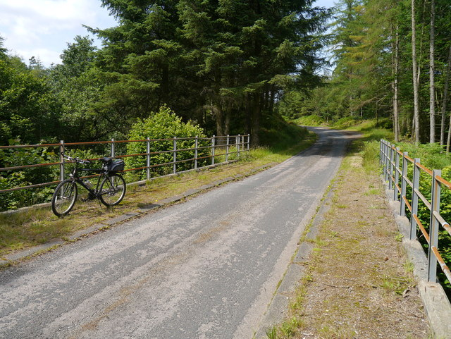 Bridge Over The Allt Tom a'Bhothain