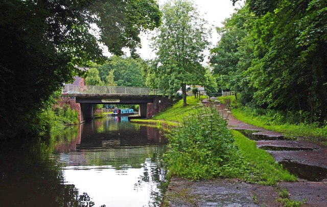Watermill Bridge, Staffs & Worcs Canal, Kidderminster
