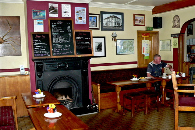 Loop Head Peninsula - Village of Kilbaha - Keating's Bar/Shop - Front Dining Area