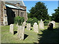 TL1554 : St Mary the Virgin, Roxton, Graveyard by Alexander P Kapp