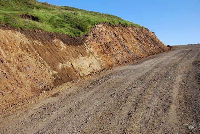 New road up Bealach Ruadh