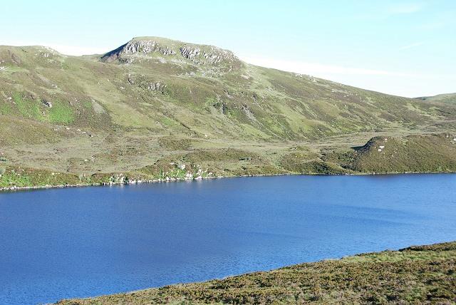 Loch Gainmheach with Sidh Mòr