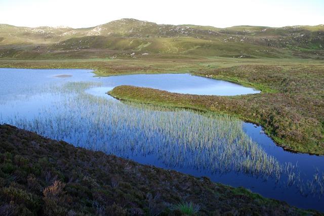 Edge of Loch nan Cèard Mòr