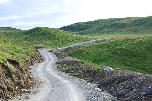 New hydro access road