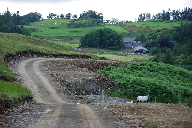 Finchairn from the new hydro access road