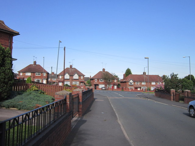 East Grange Road towards Belle Isle Road