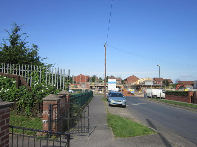 New houses on West Grange Road