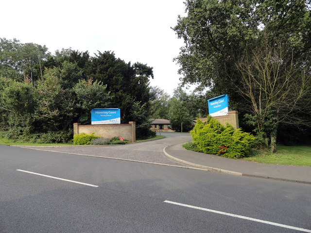 Havering Court Nursing Home Entrance