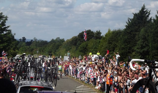 Olympic Road Race Cavalcade