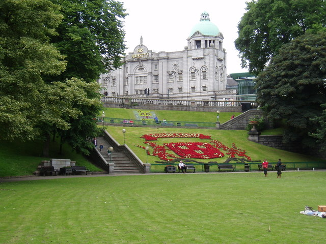 Union Terrace Gardens Aberdeen
