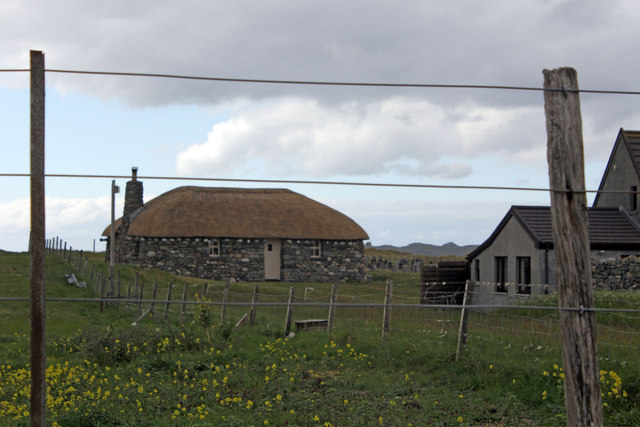 Borvemor Cottages Self Catering Blackhouse