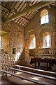 NY2239 : Internal view of Ireby Old Church or Chancel : Week 31