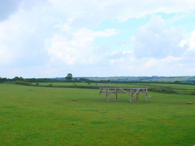 Countryside near Coln Rogers