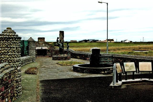 Loop Head Peninsula - Kilbaha - Ionad Cois Cuain Memorial Garden