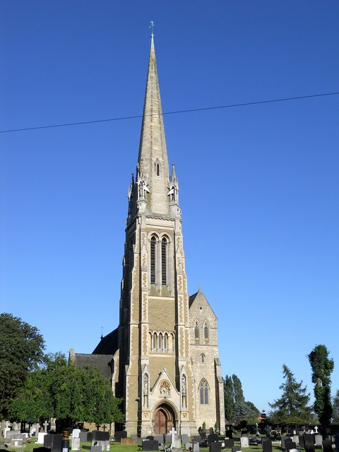 Rugby-Saint Maries Roman Catholic Church