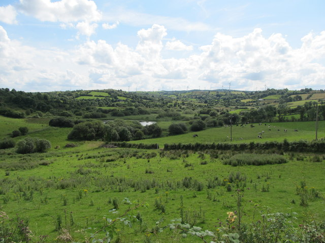 Drumgill Lough in the Townland of Dinginavanty