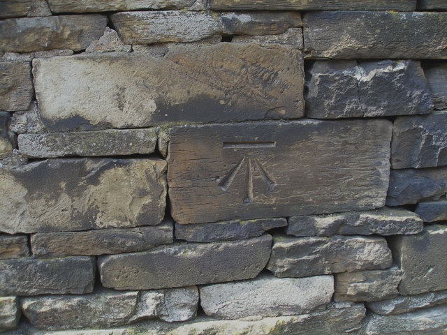 Cut benchmark on Station Road