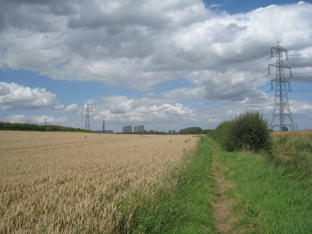 Footpath to Church Laneham
